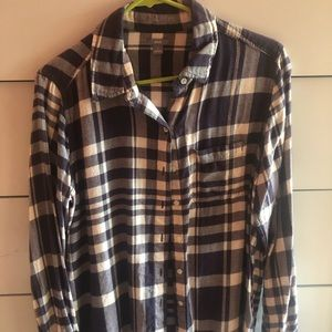 Aerie Flannel Top